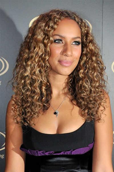 Leona Lewis Long Blonde Style