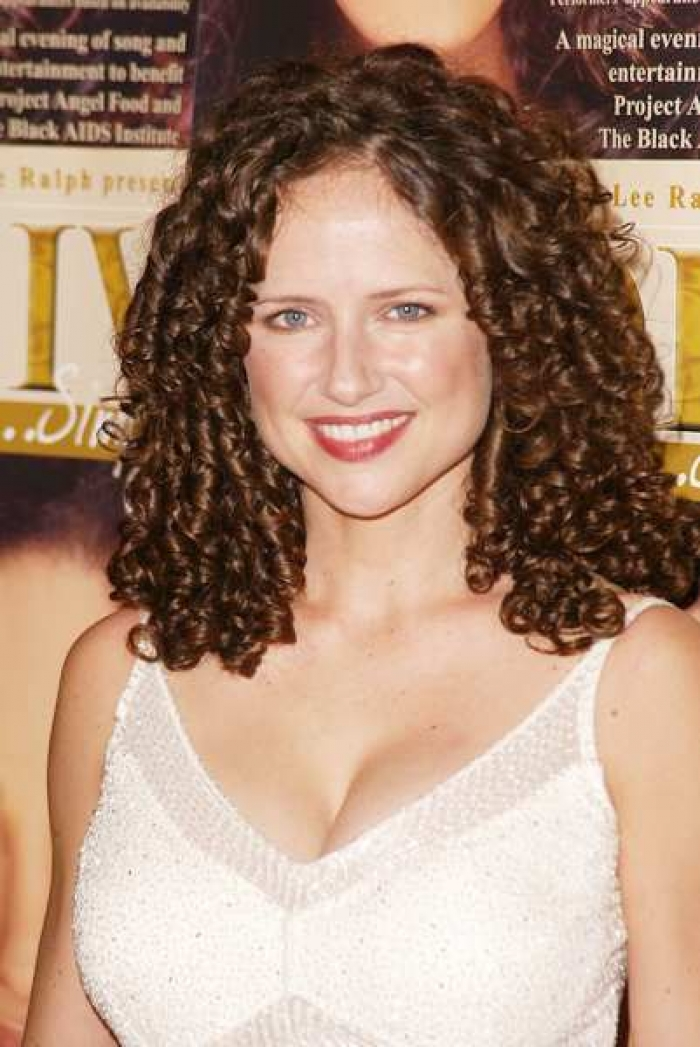 Medium Length Curly Hair Style