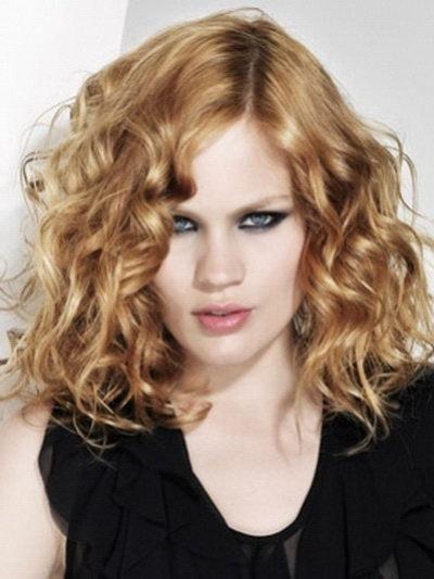 shoulder length blonde curly hair wwwpixsharkcom