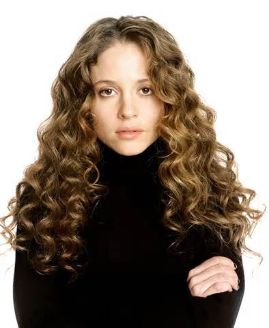Margarita Levieva Long Curly Hair Style