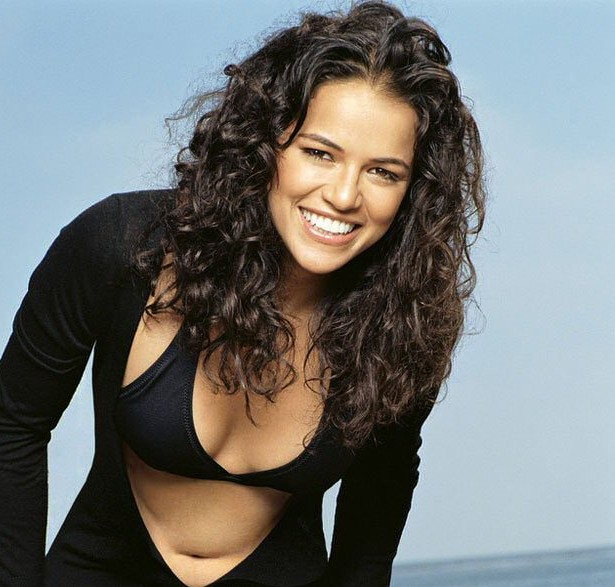 Michelle Rodriguez Curly Hair Style Cool Curly Hair